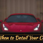 best time for auto detailing