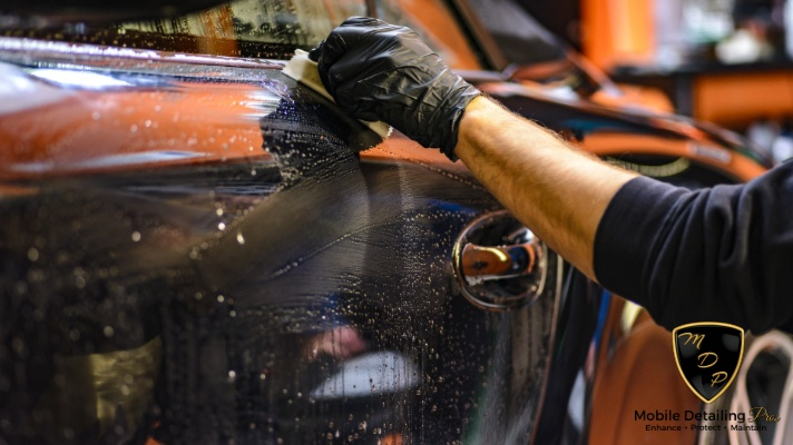 auto detailing at home