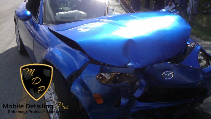 car detailing service damage
