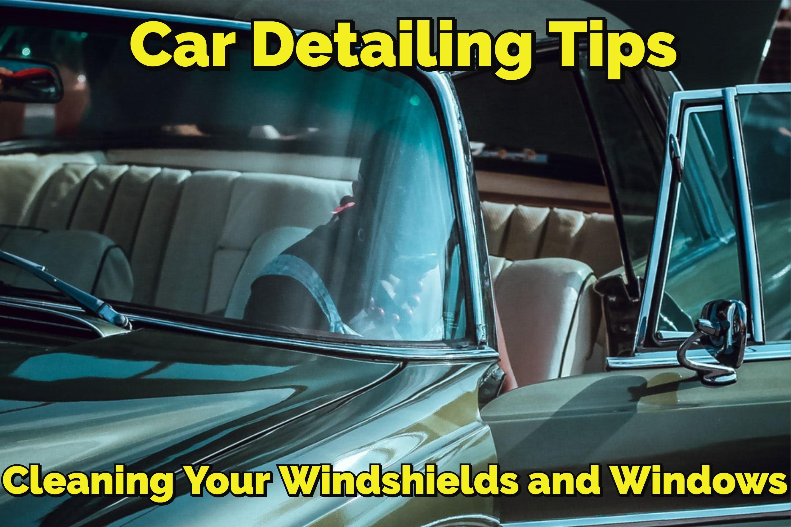 window detailing tips