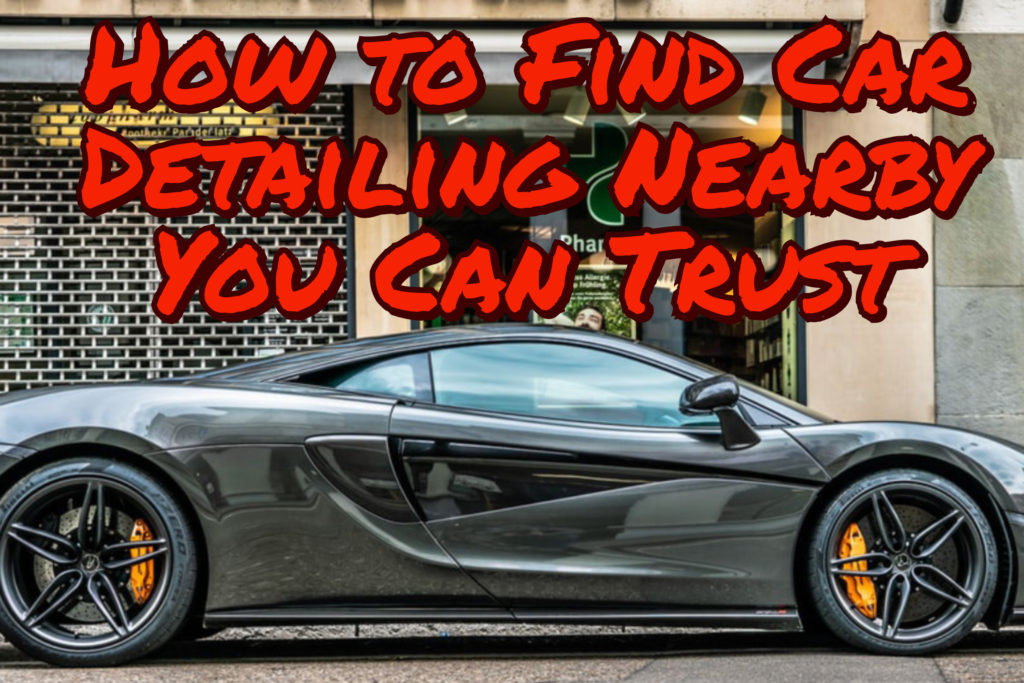 find me car detailing nearby
