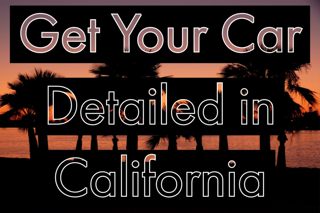 california car detailing