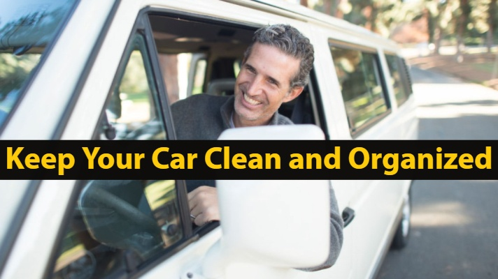 Top 5 Ways to Keep Your Car Clean and Organized