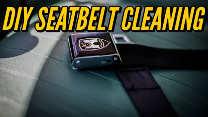 Interior Detailing Tip: How to Clean Your Seat Belt at Home